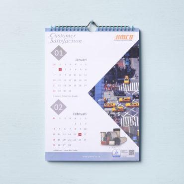 Cetak Kalender Jimco, percetakan anugrah abadi jaya wisesa, percetakan jakarta tangerang