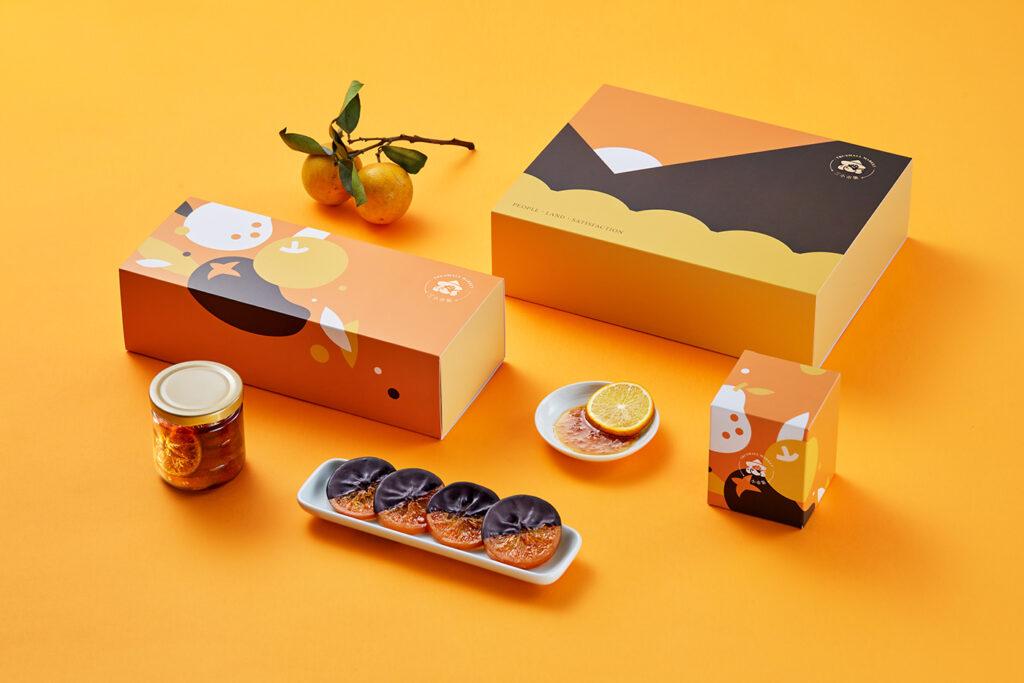 cetak dus orange, cetak packaging, percetakan tangerang, warna packaging